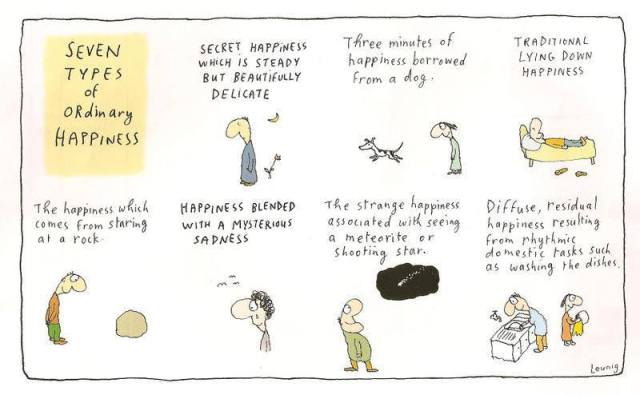 Happiness - Leunig